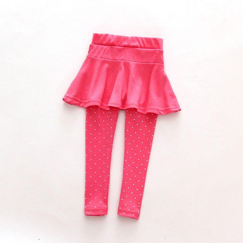 Baby Kid Pantskirt Girl Wool Culotte Pants Child Legging Trousers Dress Selling New Mesh Skirt Pants Skinny Leggings