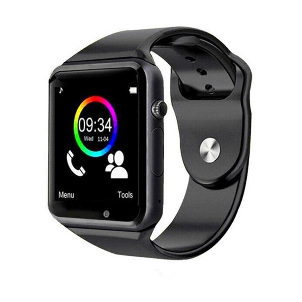 696 Bluetooth A1 reloj inteligente Watch Sync notificador de apoyo SIM TF conectividad Apple iphone teléfono Android Smartwatch