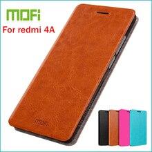 Mofi кожаный чехол для Xiaomi Redmi 4A Стенд чехол для Redmi 4A Высокое качество Флип кожаный чехол для Xiaomi Redmi 4A