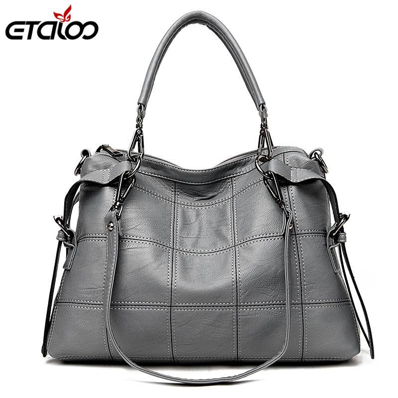 Fashion Large Capacity Women Tote Bag High Quality Leather Female Shoulder Bag Causal Women Handbag Lady's Messenger Bags