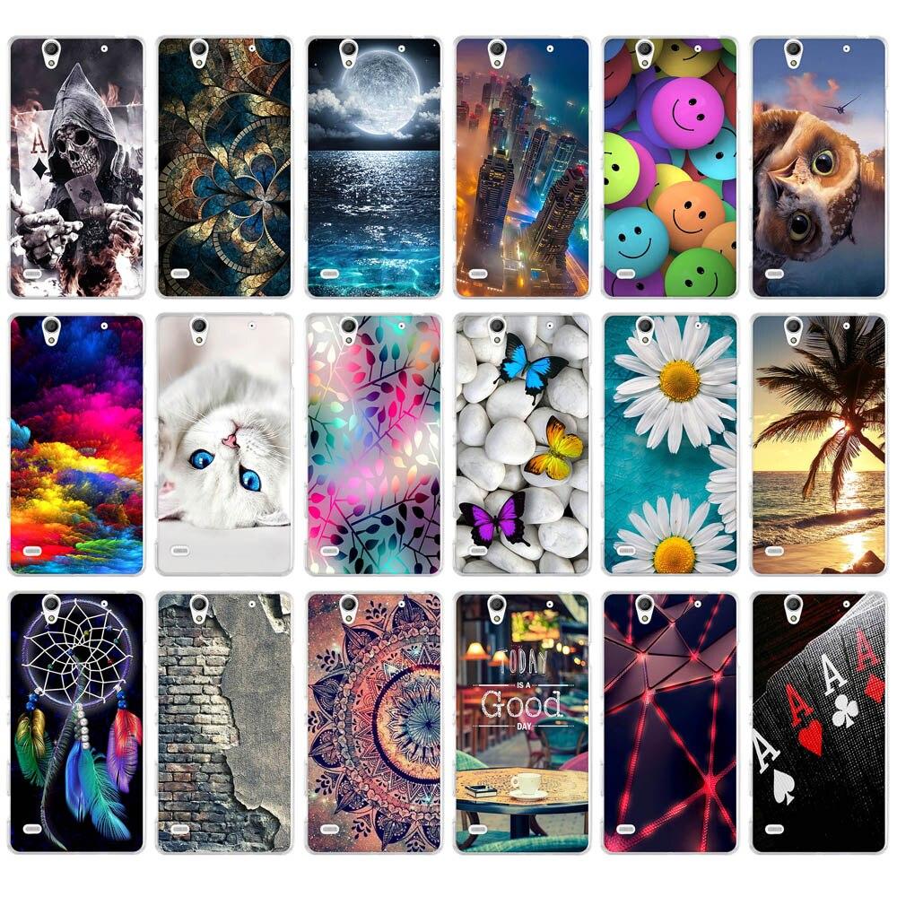 Soft Phone Cases For Sony Xperia C4 Dual E5333 E5306 E5303 E5353 E5343 E5363 Cases Back Covers Skin Bags For Sony Xperia c4 C4