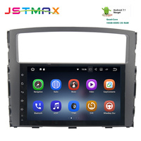 9 Quad core Android 7.1 car radio gps for Mitsubishi pajero V97 V93 2006 2011 with 2G RAM wifi 4G USB RDS audio stereo no DVD