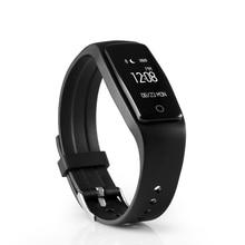 Оригинал S1 Умный Браслет Bluetooth 4.0 Oled-экран Водонепроницаемый Монитор Сердечного ритма Смарт-Группы Фитнес-Трекер