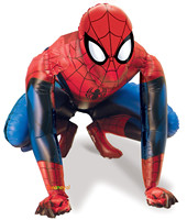 2016 36 inch Riesen Stereo Spiderman Simulation Heliumballon Baby Geburtstag Party Dekoration Kinder Held Aluminiumfolie Ballon