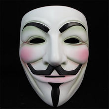 Практичные приколы, маски для взрослых, маски для Хэллоуина, V для Vendetta, вечерние маска для косплея