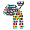 Baby Boys Cartoon Clothing Sets Kids Boy Clothes Cotton Suits Infant Tracksuits Casual Sets 3Pcs Hat+Full Sleeve Shirt+Pant Suit