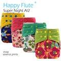 HappyFlute OS Супер Ночь АВХ2 ткань diaepr, конопли и уголь bamoo вставить, двойной утечки охранников, S, M, L, регулируемый, подходит для 5-15 кг