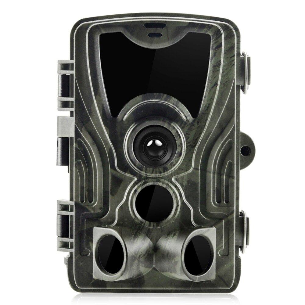 Suntek cámara de caza camino cámaras HC-801A 16MP 1080 P IP65 versión de la noche foto trampa 0,3 gatillo Vida Silvestre de las cámaras de vigilancia