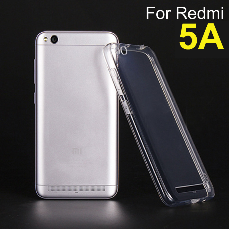 Xiomi Redmi 5A Case, Shockproof Soft Tpu Case Back Cover For Xiaomi Redmi 5A Phone Case Silicone Clear