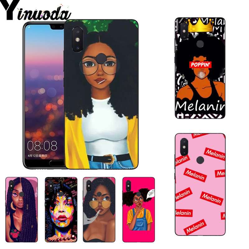 Clothing, Shoes & Accessories Yinuoda 2bunz Melanin Poppin Aba Coque Phone Case For Xiaomi Mi 6 Mix2 Mix2s Note3 8 8se Redmi 5 5plus Note4 4x Note5