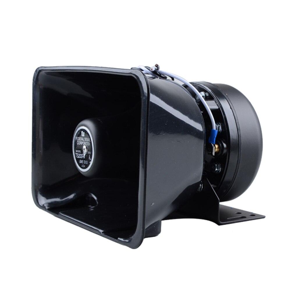 200 W 12 V Impermeable Del Coche Policía Cuerno de Sirena de Alarma Bocina Altav