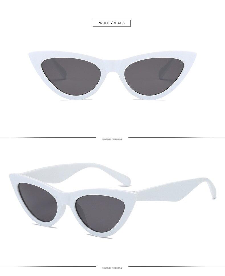 Óculos de sol olho de Gato óculos de sol das mulheres de moda de ... 5dd662b00a