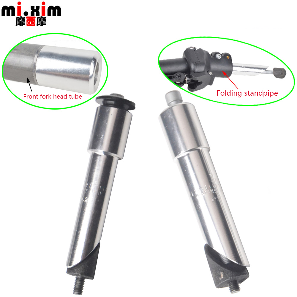bike stem increased control tube extend handlebar bicycle front fork adapter Ey