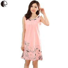 0a7841bc42b Buy 100% cotton sleeveless nightgown and get free shipping on AliExpress.com