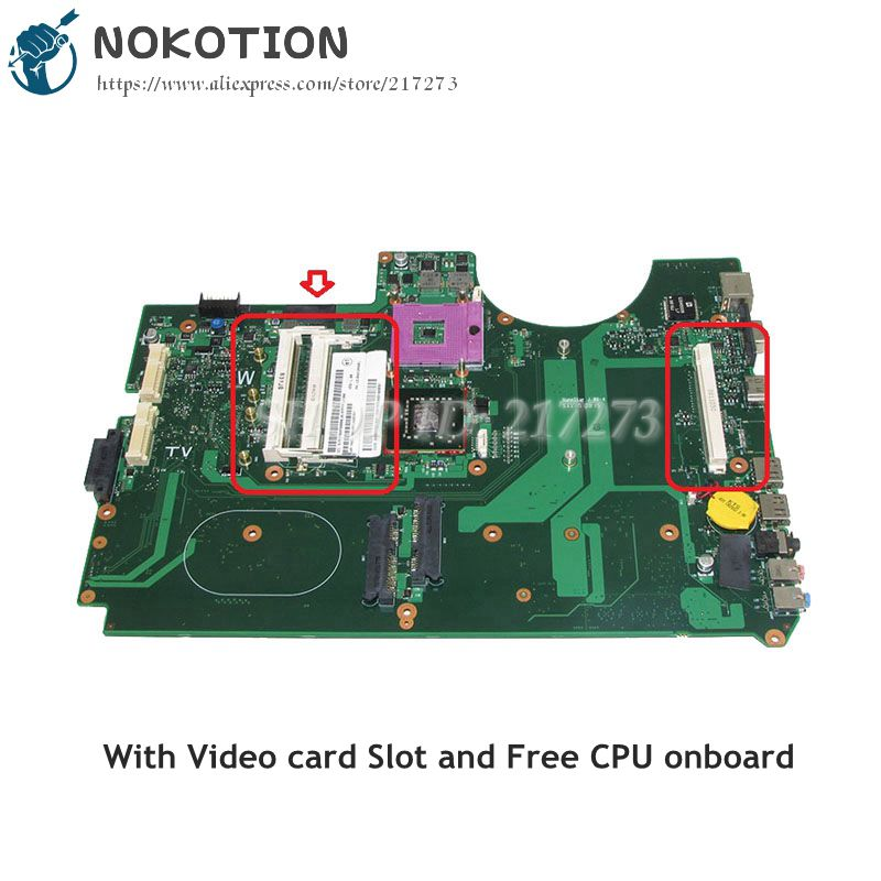 NOKOTION For Acer sapire 8920G 8920 Laptop Motherboard <font><b>DDR2</b></font> Free CPU MBAP50B001 6050A2184601-MB-A02 MAIN BOARD image