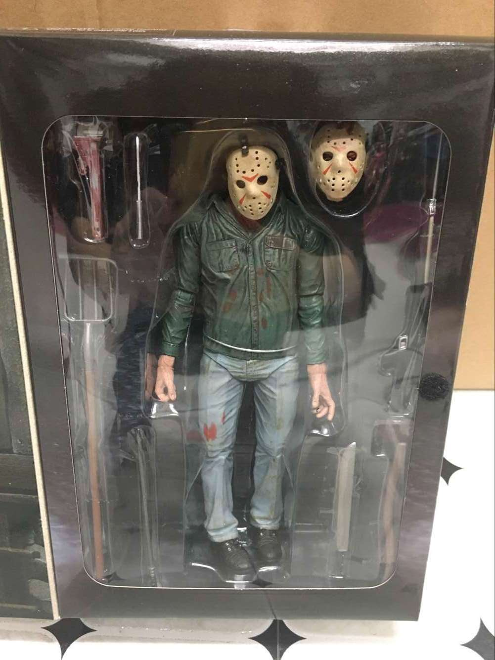 NECA A Nightmare on Elm Street 3 Freddy Krueger Friday the 13th Part 3 3D Jason Voorhees Action Figure PVC Collectible Model Toy
