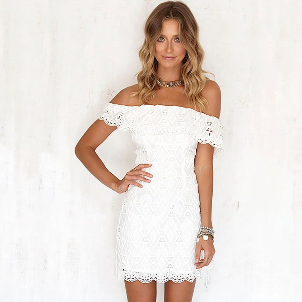 Online Buy Wholesale white strapless lace dress from China white ...