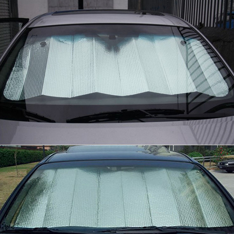 1PC 140*70cm Back Front Rear Car Windshield Sunshade Window Sun Shade Sunshade Visor Film For Car Window Auto Accessories