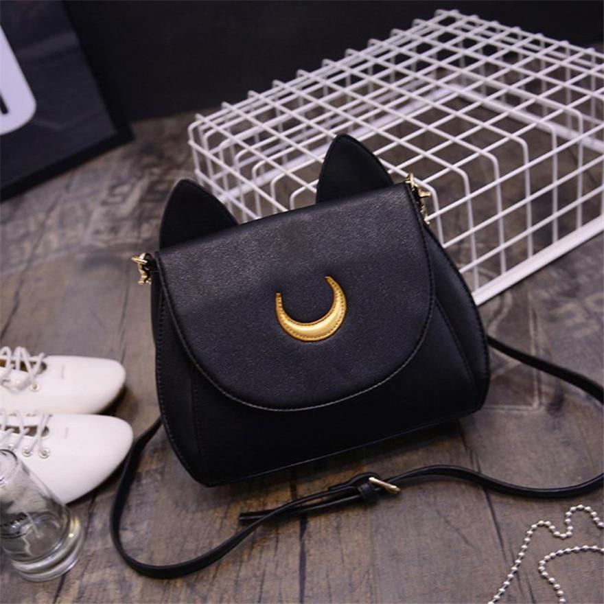 c396501d6e MOLAVE Handbag Bag Female Solid Bags for Girls Hasp Sailor Moon Shoulder Bag  Ladies Luna Leather