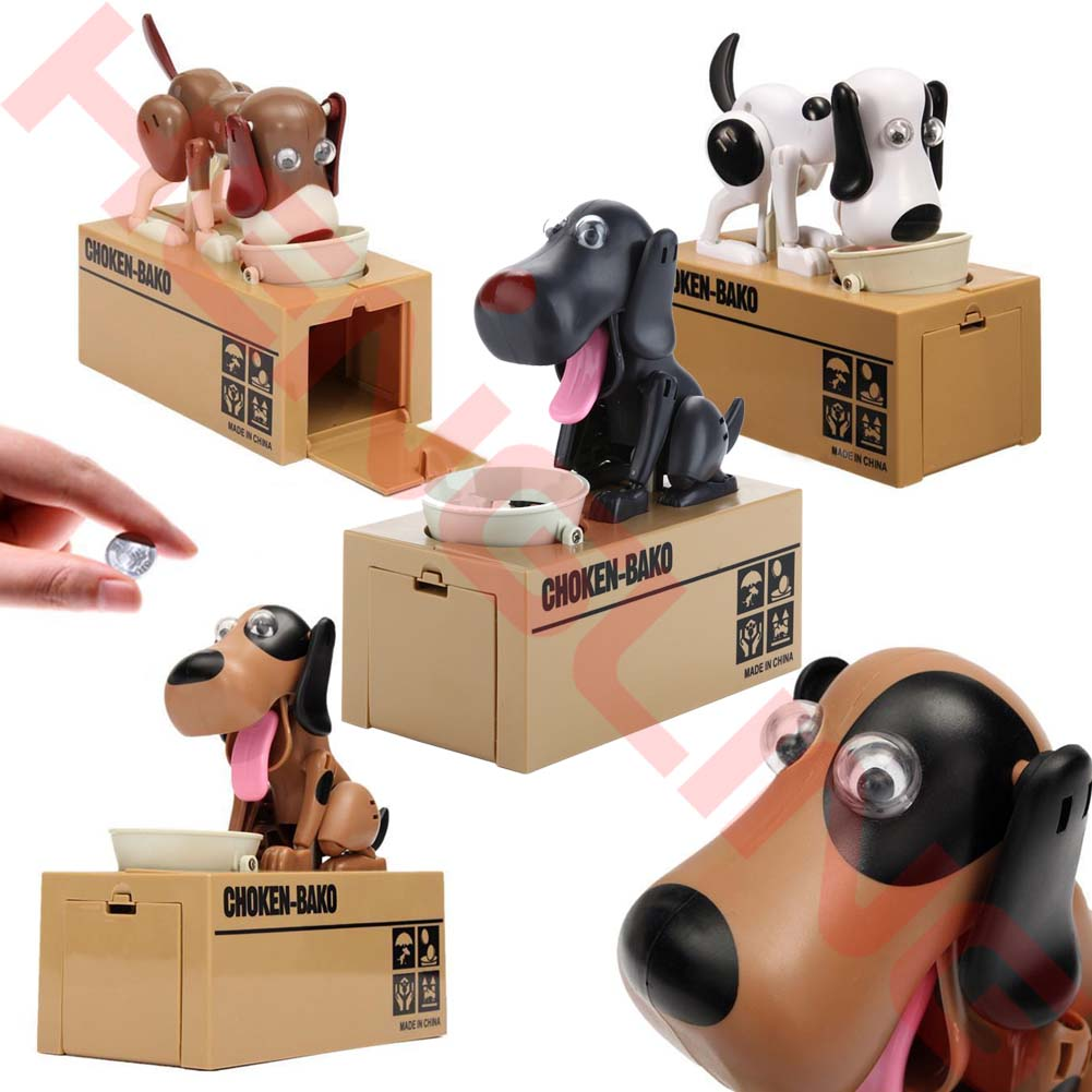 Puppy Dog Coin Bank