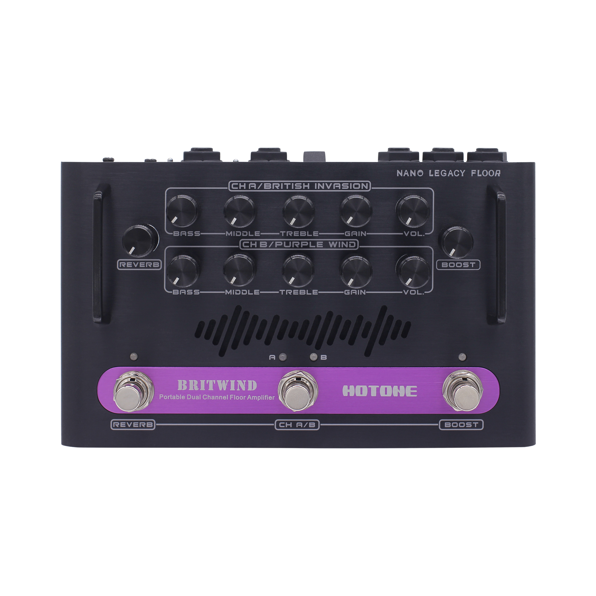 hotone britwind portable dual channel floor amplifier guitar amplifier nano legacy amps electric. Black Bedroom Furniture Sets. Home Design Ideas