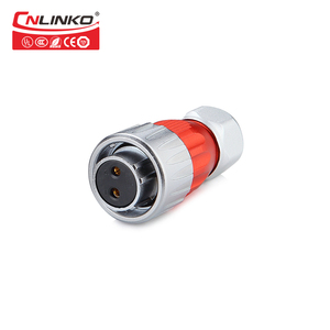 Image 2 - Metal Screw Locking Multi core M20 2 12 Pin 20A AC Panel IP67 Waterproof Electrical Connector Bayonet Connecting Soldering Cable