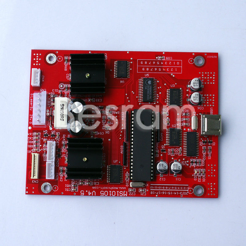 все цены на K40 ms10105 v4.7 Main Board for Laser Marker Plotter Engraver Cutter + USB cable онлайн