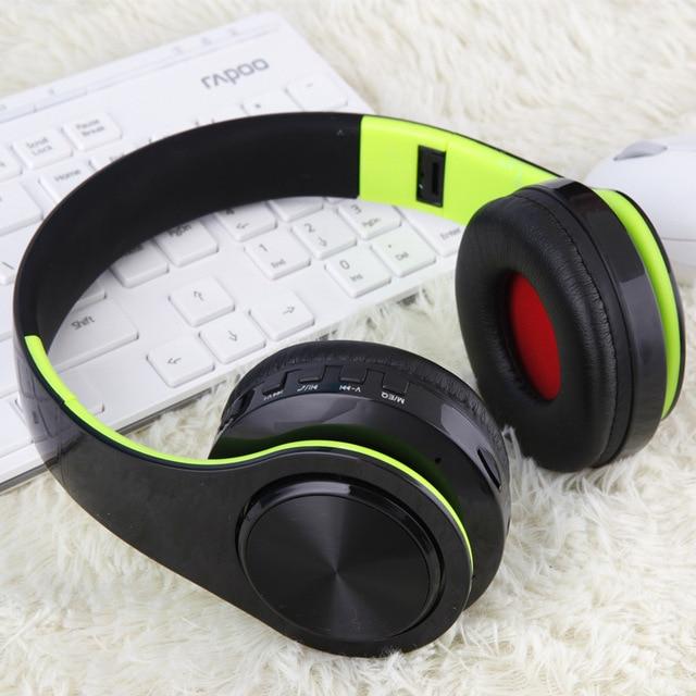 Bluetooth Headphone With Microphone Low Bass earphones 4