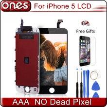 Aaa calidad de reemplazo de pantalla lcd para iphone 5s iphone 5c iphone 5 lcd de pantalla con pantalla táctil digitalizador asamblea