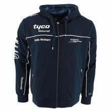 2018 Motorrad Motorsport мотоциклетная куртка Tyco Racing Team Zip Hoody взрослых для мужчин's худи с гоночным принтом спортивная толстовка для BMW