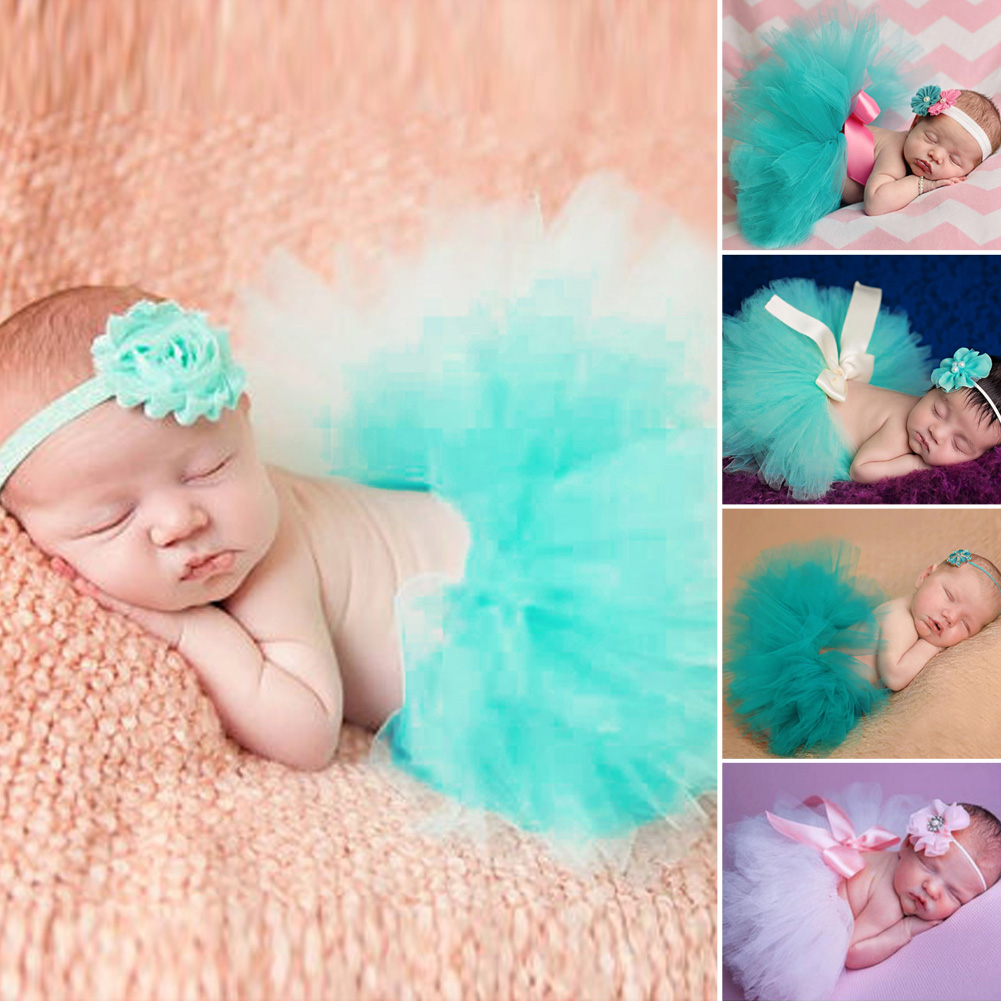 Baby Photography Props Newborn Handmade Crochet Cap Infant Girl Photo Props with Headware 0 12M