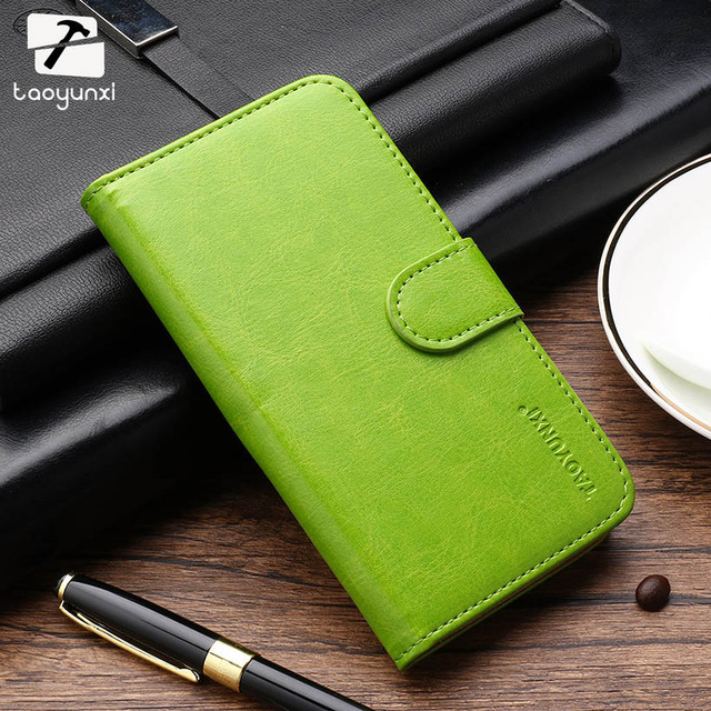 TAOYUNXI For Flip Wallet Cases Nokia X 1045 A110 RM-980 Normandy Single SIM Covers PU Leather Holster Coque Fundas