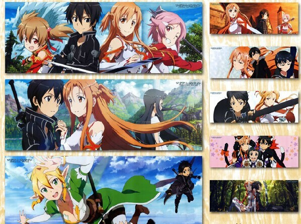 Sword Art Online Sao Anime Wallpaper Poster Canvas Painting Wall Art Oil Painting Movie Wall Pictures