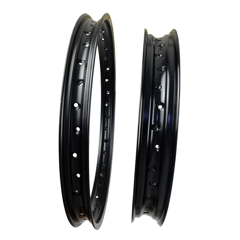 6061 Front Rear Motorcycle Rims Aviation Aluminum Wheel Circle 2 15x19 1 60x21 36 Spoke Hole