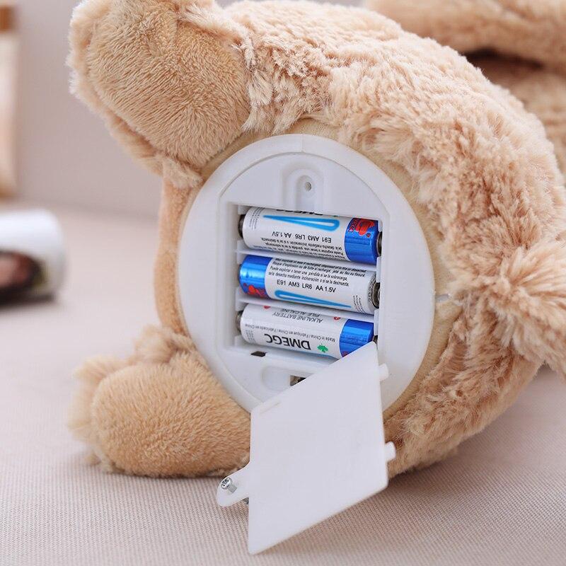 brinquedos orelhas flaping movimento interativo boneca