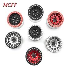 4 pièces en métal RC roche chenille 1.9 pouces Beadlock roue jante moyeu pour 1/10 Axial SCX10 90046 TAMIYA CC01 D90 D110 TF2 Traxxas TRX 4