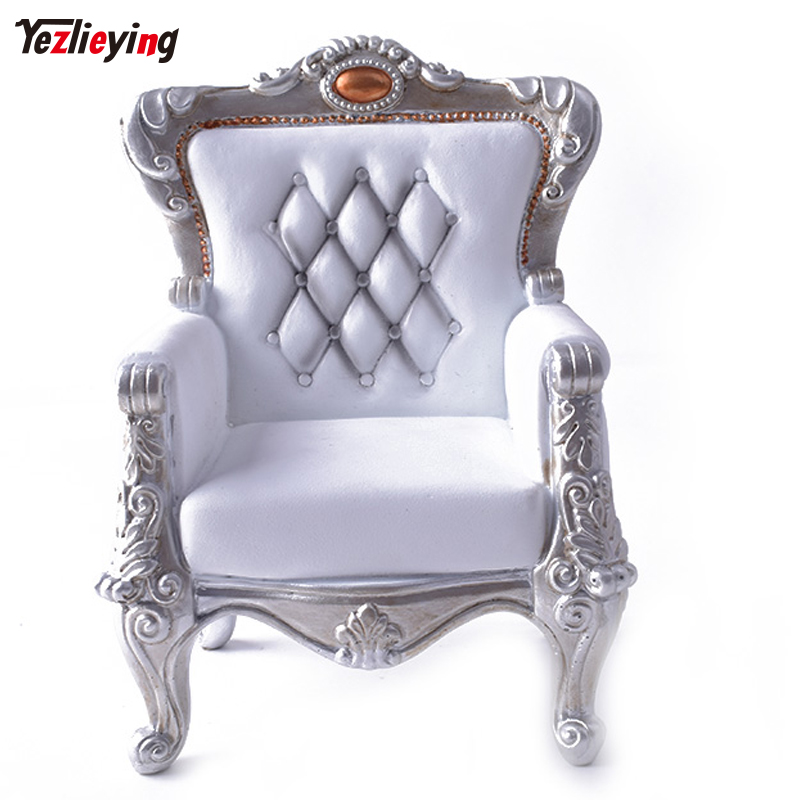 1/6 Scale Sofa Vintage White or Executive Chair Model Resin for 12