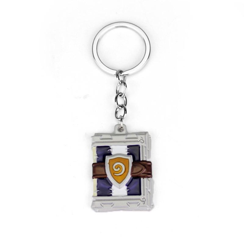 Hearthstone Theme Keyring Blizzard Key Chain Rings