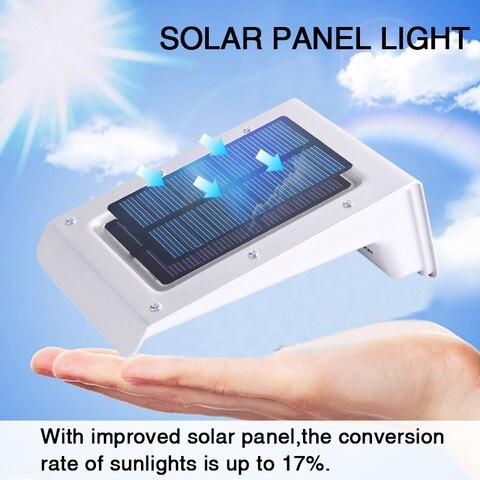 4 pcs led jardim luz solar sensor