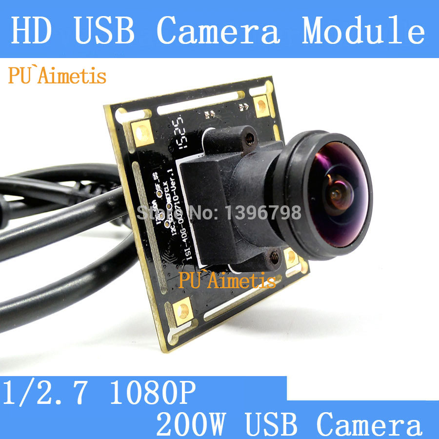 PU`Aimetis Surveillance camera 1080p Full Hd MJPEG 30fps High Speed 2MP OV2710 Mini CCTV Android Linux UVC USB Camera Module industrial full hd 1080p mjpeg