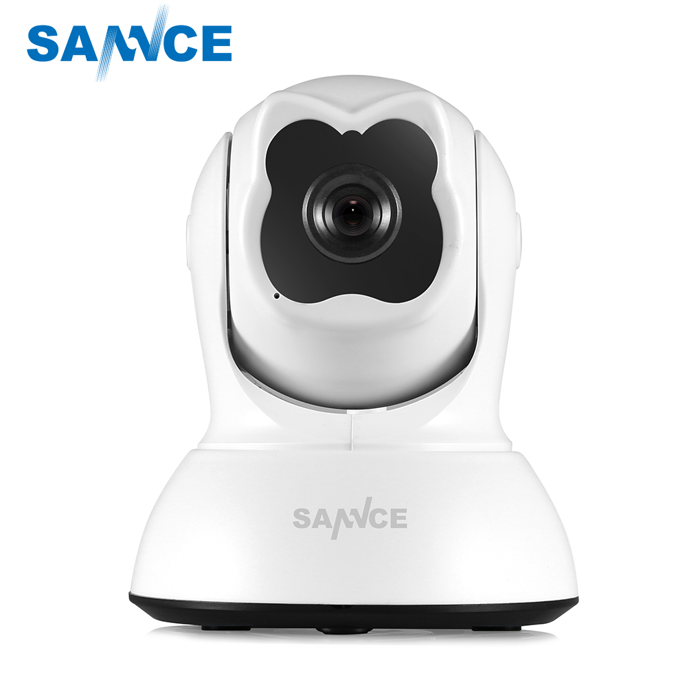 SANNCE Wifi IP Camera 720P HD Wireless 1.0MP Smart CCTV Security Camera P2P Network Baby Monitor Surveillance Mobile Remote Cam цена 2017