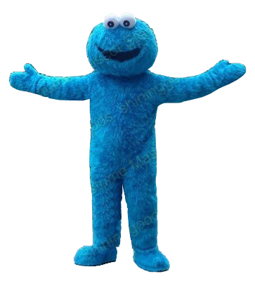 Cookie Monster Kostuem.Free Adult Blue Cookie Monster Mascot Costume Dress Up Adult Free Shipping For Halloween Cookie Monster Mascot Costume Mascot Costumecookie Monster Aliexpress