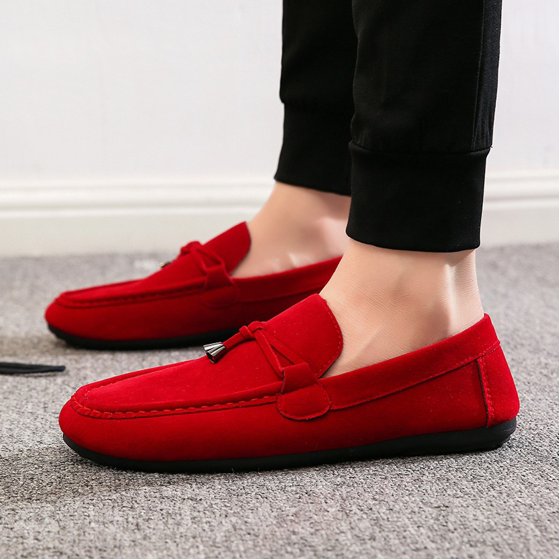 Men Casual Shoes Summer 2019 Breathable Soft Driving Men 39 S Handmade Chaussure Homme Net Surface Flat Comfortable Loafers Shoes in Men 39 s Casual Shoes from Shoes