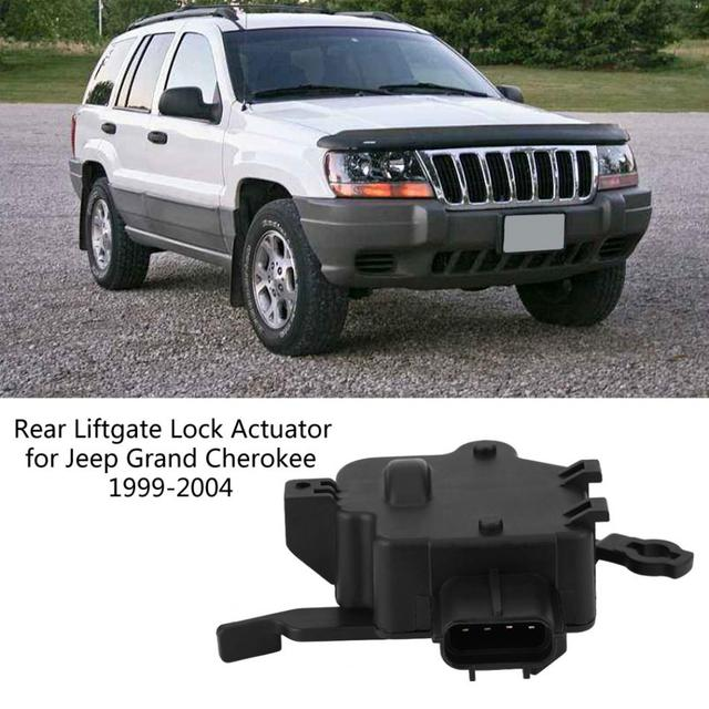 2018 Rear Liftgate Tailgate Door Lock Actuator for Jeep Grand Cherokee 99-04 5018479AB  sc 1 st  AliExpress.com & 2018 Rear Liftgate Tailgate Door Lock Actuator for Jeep Grand ...