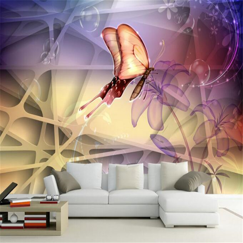custom modern 3D photo high quality non-woven mural living room wallpaper flower sofa backdrop wallpaper home decor for bedroom custom 3d room mural wallpaper non woven wallpaper senery red maple forest photo living room tv backdrop bedroom photo wallpaper