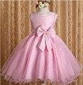 2 a 7 Anos de Bebê Meninas Roupas Cor de Rosa Tutu Vestido de Natal Vestido de Princesa Roupas Infantis De Menina Lantejoulas vestido de Festa Vestidos