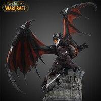 WOW Deathwing красочный Дракон Фигурка MMORPG видео игра Смола Дракон Модель игры плеер вентилятор Коллекция украшения дома подарок