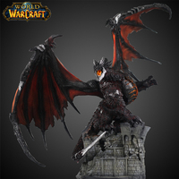 WOW Deathwing Colorful Dragon Action Figure MMORPG Video Game Resin Dragon Model Game Player Fan Collection Home Decoration Gift