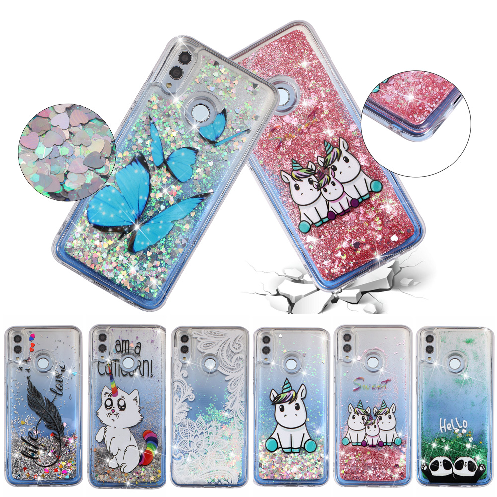 Liquid <font><b>Case</b></font> sFor Coque <font><b>Huawei</b></font> <font><b>Y7</b></font> <font><b>2019</b></font> <font><b>case</b></font> For <font><b>Huawei</b></font> Y 7 <font><b>Y7</b></font> Prime <font><b>2019</b></font> Phone <font><b>cases</b></font> Cute Unicorn Dynamic <font><b>Glitter</b></font> Soft <font><b>case</b></font> Cover image