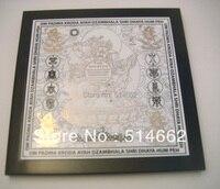 NEW FENG SHUI White Dzambala vintage wall plaques home decor
